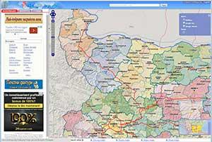 Karta Na Bulgaria.Karti Na Blgariya I Blgarski Gradove